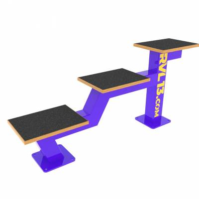 Multijump bench RVL13 Street Workout Parks