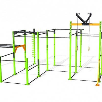 Mobile bar 7D RVL13 Street Workout Parks