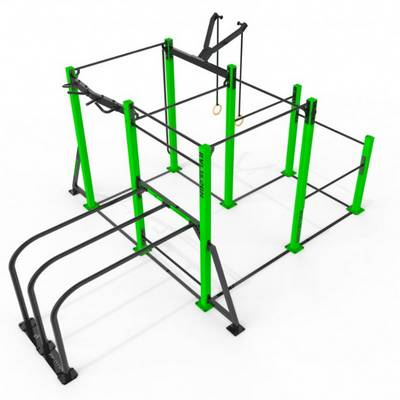 Mobile park 3D RVL13 Street Workout Parks