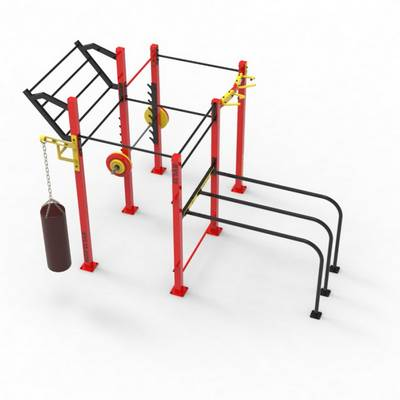Double Rack CF RVL13 Street Workout Parks