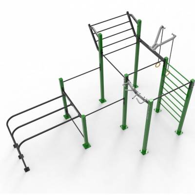 Triple Rack RVL13 Street Workout Parks