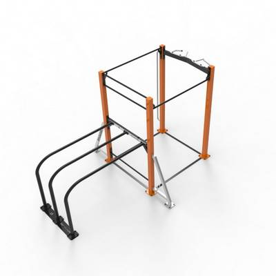 Mobile bar 1D Heavy RVL13 Street Workout Parks