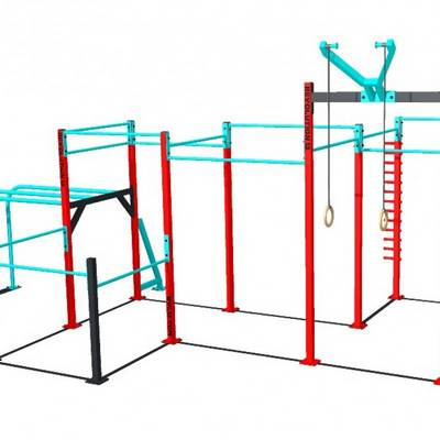 Mobile bar 5D RVL13 Street Workout Parks