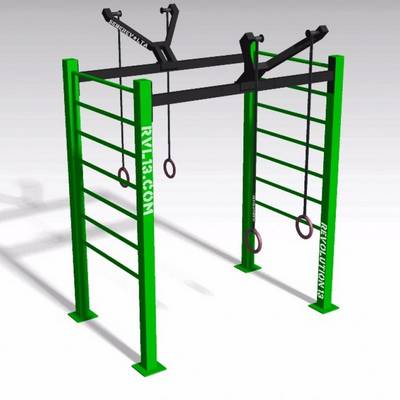 Double Ring RVL13 Street Workout Parks