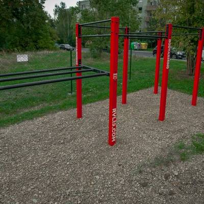 Double rack DDWM RVL13 Street Workout Parks
